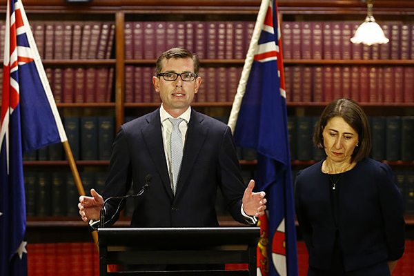Article image for Treasurer claims NSW being 'put to the side' by federal government