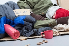 Minister defends calling for 'positive spin' on homelessness