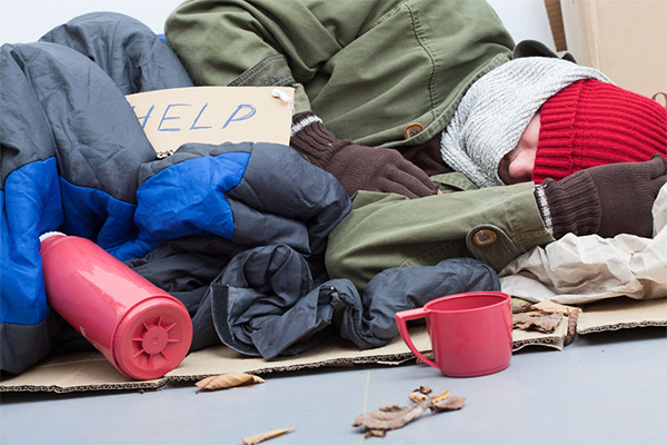 Article image for Minister defends calling for 'positive spin' on homelessness