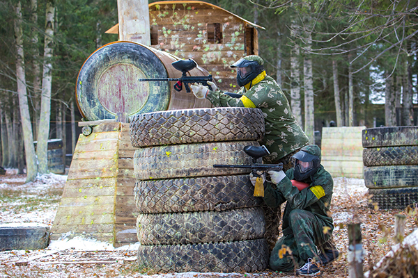 Article image for Minister says new paintball age limit eliminates 'nanny state'