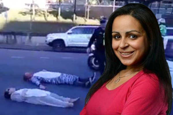 Article image for 'It'll be character building': Rita Panahi's plan to stop superglue protesters