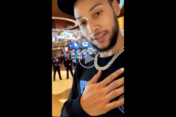 Article image for Ben Simmons responds to claims he lied about being denied entry to casino