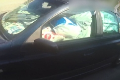 WATCH | Man fined for driving car filled with garbage