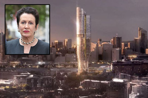 Article image for 'Outrageous waste': Clover Moore spends ratepayers' money to oppose Pyrmont tower