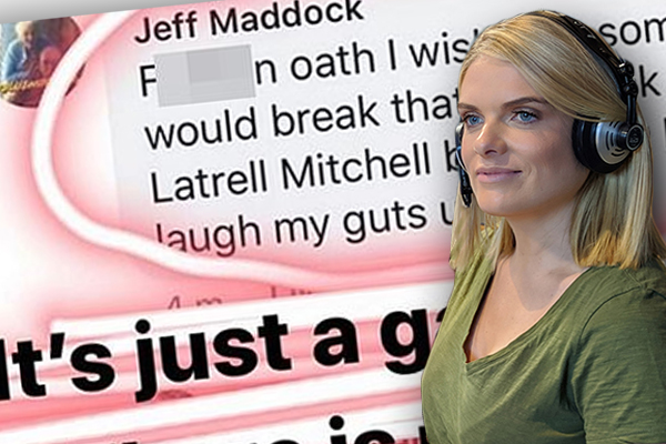 Article image for Erin Molan praised for stunning attack aimed at online 'cowards'