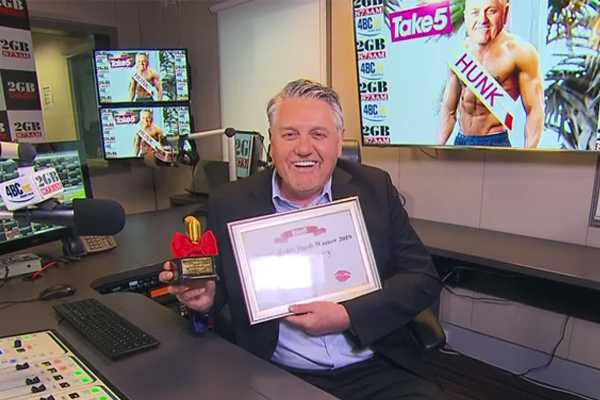 Article image for Ray Hadley named Australia's Hottest Radio Hunk… seriously