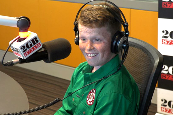 Article image for WATCH | ScoMo surprises incredible 11-year-old Jack Berne live on-air