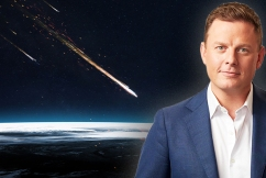 A monster asteroid is heading towards earth… so Ben Fordham chooses his last ever meal