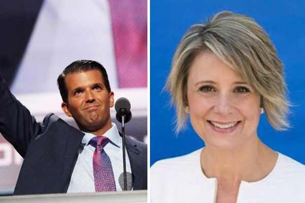 Article image for 'Absurd': Kristina Keneally engaged in fiery Twitter feud with Donald Trump Jr