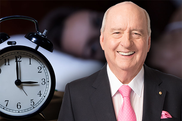 Article image for 'I can't believe it!': Alan Jones shocked at Aussie sleep study