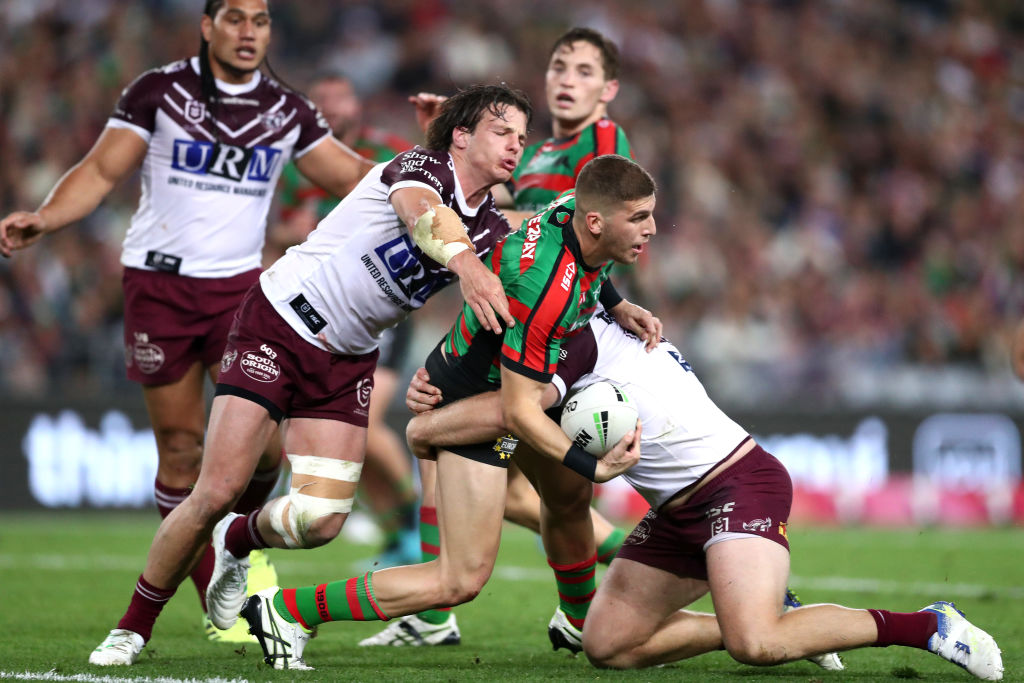 Article image for Richo 'fair dinkum' about helping the Rabbitohs survive