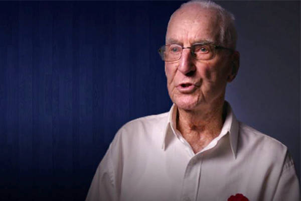 Article image for World War II veteran who lied about his age has never regretted his service