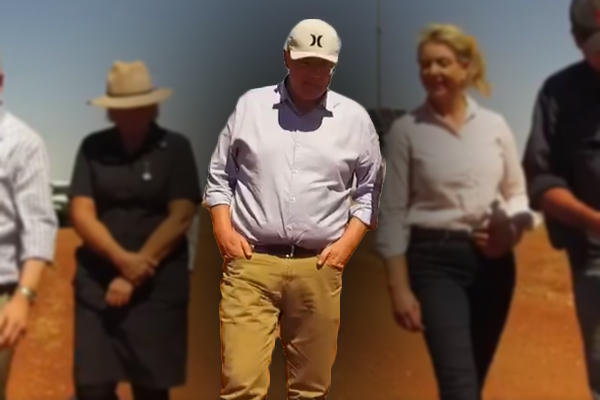 Article image for Alan Jones comes down hard on PM's drought relief package