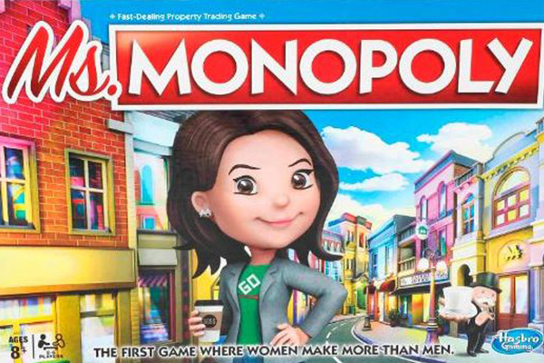 Article image for Monopoly gives women more money than men