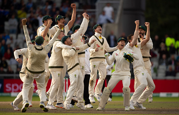 Article image for The urn returns: Australia claims the Ashes in tense conclusion