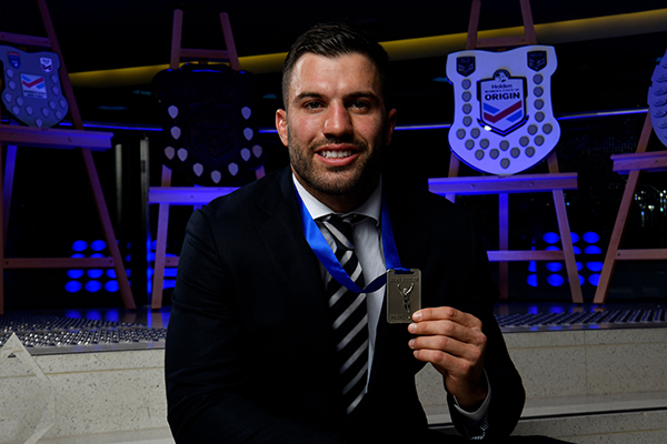 Article image for James Tedesco makes history at the NSW Blues awards night