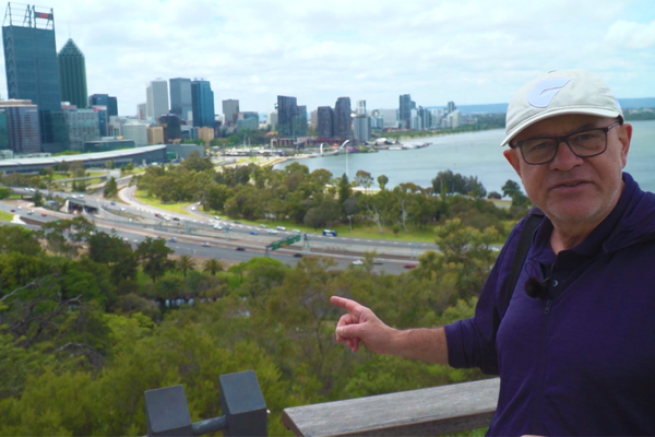 Article image for WATCH | John Stanley checks out the world's largest inner city park… in Perth!
