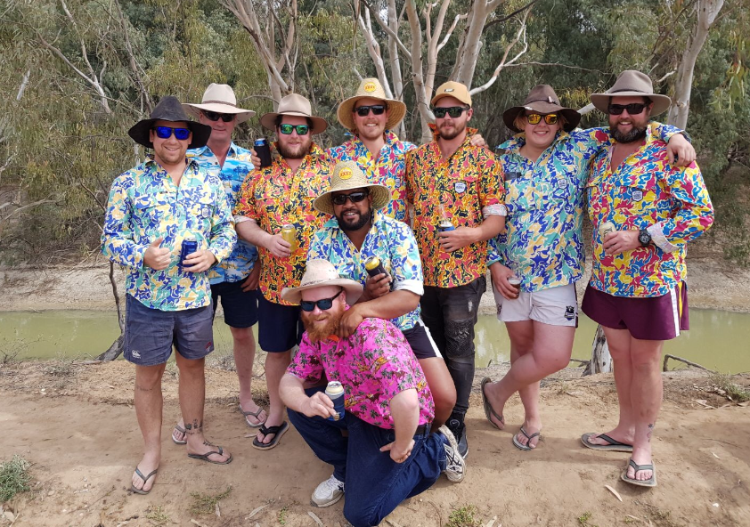 Article image for Mick and the 'Loud Shirts Crew' at The Pooncarie Cup