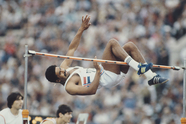 Article image for 'A giver': The chance to ride with Olympic legend Daley Thompson