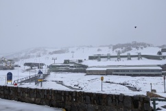 Summer snowfall in Perisher has residents gambling on a white Christmas