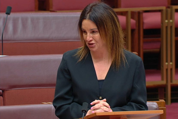 Article image for Medevac laws repealed: Jacqui Lambie breaks down as she votes to ditch medevac