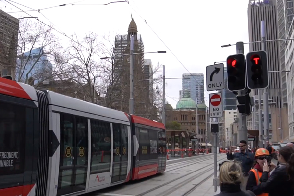 Article image for Opening date announced for the controversial Sydney Light Rail