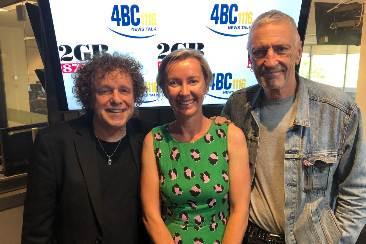 Article image for John Waters and Leo Sayer in studio with Deb Knight to talk bushfire relief