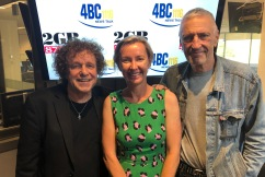 John Waters and Leo Sayer in studio with Deb Knight to talk bushfire relief