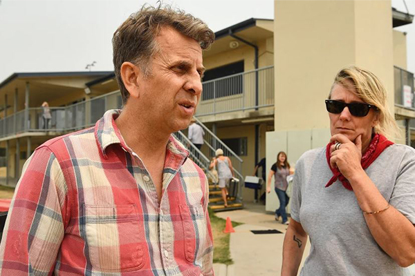 Article image for Andrew Constance: The Prime Minister got what he deserved from 'angry' Cobargo