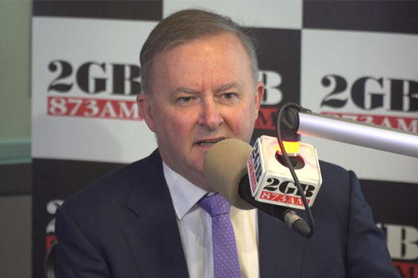 Article image for Anthony Albanese: We can't bury our heads in the sand over climate change