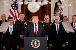 President Trump de-escalates military conflict with Iran