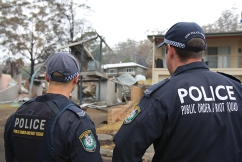 'Disgusting behaviour': Three charged as police crack down on looting in bushfire-affected areas