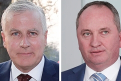 Barnaby Joyce fails in bid to take Nationals Party leadership