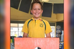 Year 6 student auctions off 'exceptional' artwork for RFS