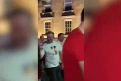 WATCH | Anthony Albanese caught flipping-off protesters at Mardi Gras