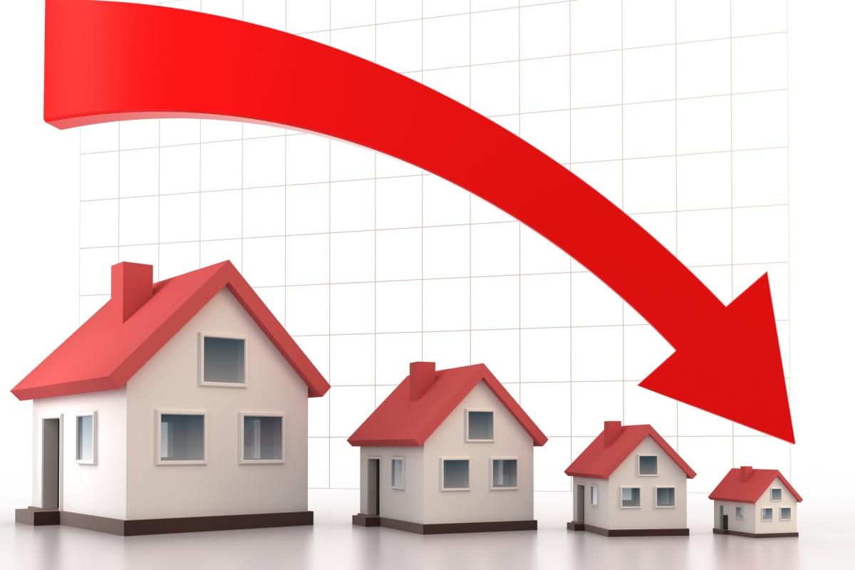 Article image for Rising unemployment could see house prices nosedive