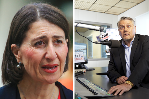 Article image for 'She's done herself a great disservice': Ray Hadley blasts NSW Premier