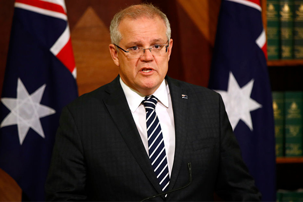 Article image for 'Virus will wreak enormous damage': PM tells Australians to stay home