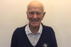 Aussie tennis player shares secret to long life on his 100th birthday
