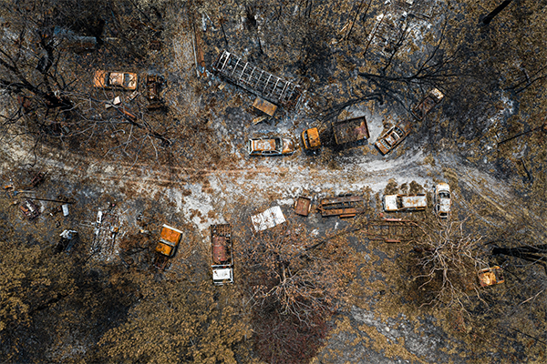 Article image for Bushfire victim to spend second winter in caravan as supply scarcity continues
