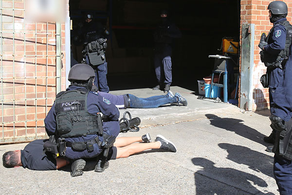 Article image for Sydney men busted with $80 million worth of liquid meth