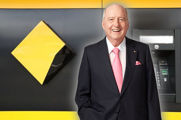 Article image for Bank changes tune after grilling from Alan Jones