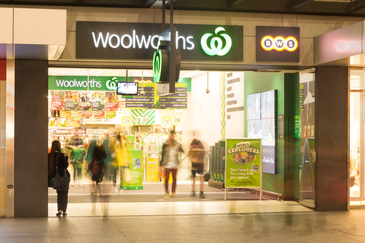 Article image for Woolworths profits falls despite panic buying and cellar stocking