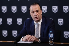 Peter V'Landys says crowds should be allowed at the NRL tonight