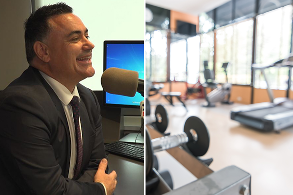 Article image for EXCLUSIVE   Deputy Premier 'confident' gyms will reopen by July
