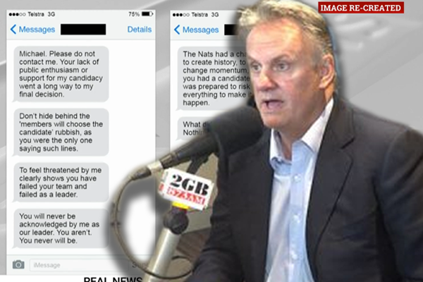 Article image for Mark Latham weighs in on National Party war of words