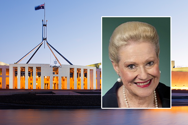 Article image for Bronwyn Bishop honoured as trailblazer for women in politics