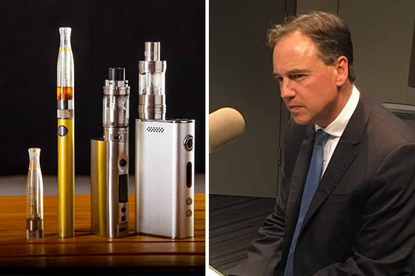 Article image for Health Minister defends decision to ban e-cigarette imports