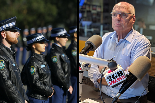 Article image for Greens 'idiocy' met with anger from politicians as police recruits are sworn in