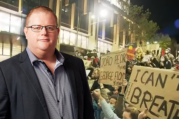 Article image for Mark Levy hits out at 'misguided and offensive' Greens MP